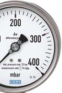 Differential pressure gauges by WIKA Canada
