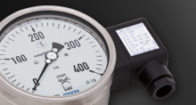 Mechatronic pressure measurement