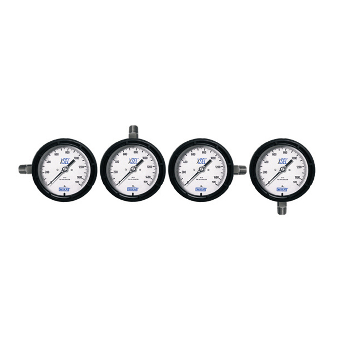 Process Gauges Include Multiple Dial Mounting Options