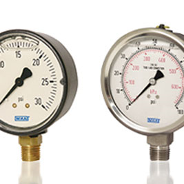 WIKA Liquid-filled Gauges Longer Lifetimes and Greater Accuracy
