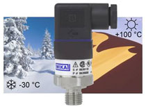 WIKA's A-10 Pressure Transmitter Goes Outdoors