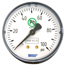 Bourdon Tube Pressure Gauge<br>