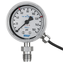 "Bourdon Tube Pressure Gauge Model 230.15 2"" with Dual Switch"