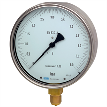Test Gauge, Bourdon Tube Pressure Gauge -- model 312.20