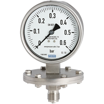 Diaphragm Pressure Gauge - models 432.50, 433.50