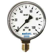 Low Pressure Capsule Gauges