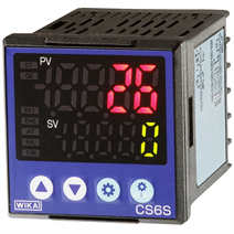 PID temperature controller model CS6S: Dimensions 48 x 48 x 60 mm