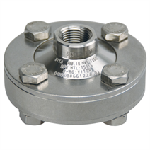 Standard clamped diaphragm seal