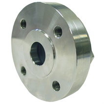 Clamped Diaphragm Seal, Between Upper and Lower Housing