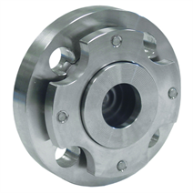 Clamped Diaphragm Seal Between Upper and Lower Housing, Flanged Connection