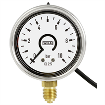 switchGAUGE, Bourdon tube pressure gauge with electronic pressure switch