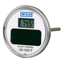 Solar Digital Thermometer<br>