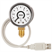 Bourdon tube pressure gauge with USB interface